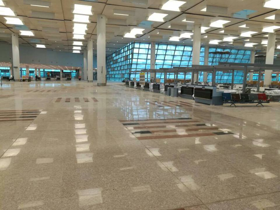 New Islamabad International Airport Inside