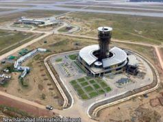New Islamabad International Airport Control Tower