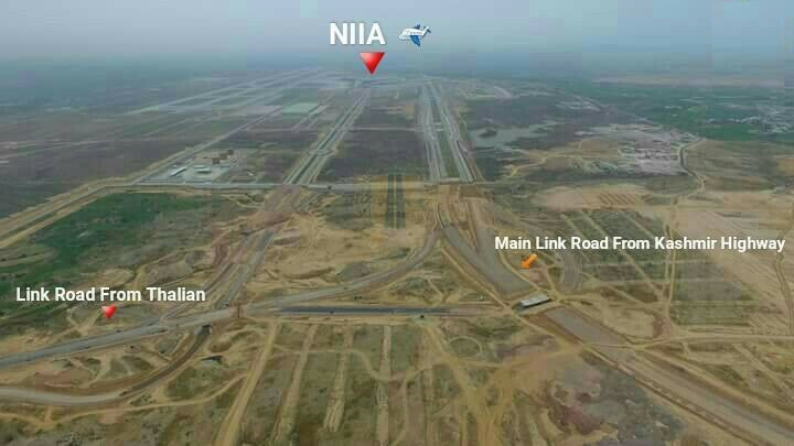 New Islamabad International Airport Roads