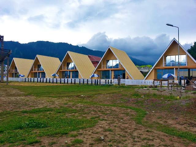 Shogran Huts 1