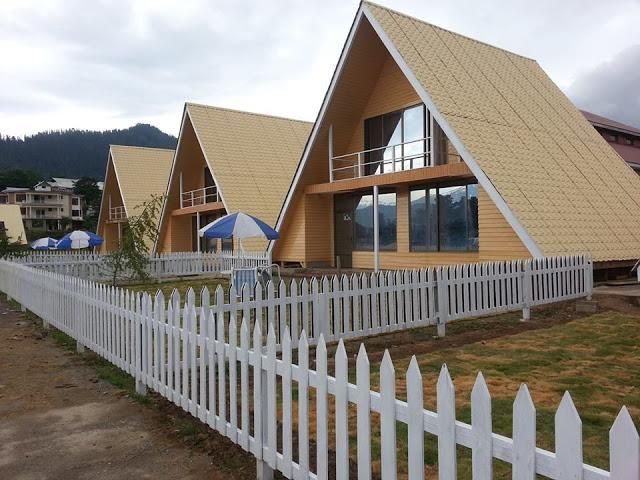 Shogran Huts 2