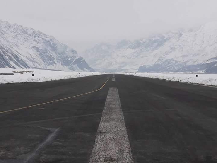 12 - Runway of Skardu Airport