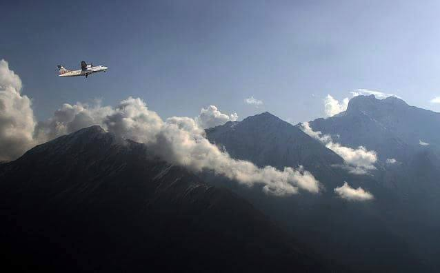 13 - You get to see some of the highest mountains in the world while flying to the Skardu Airport