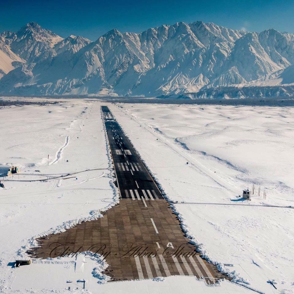 16 - Skardu Airport Runway