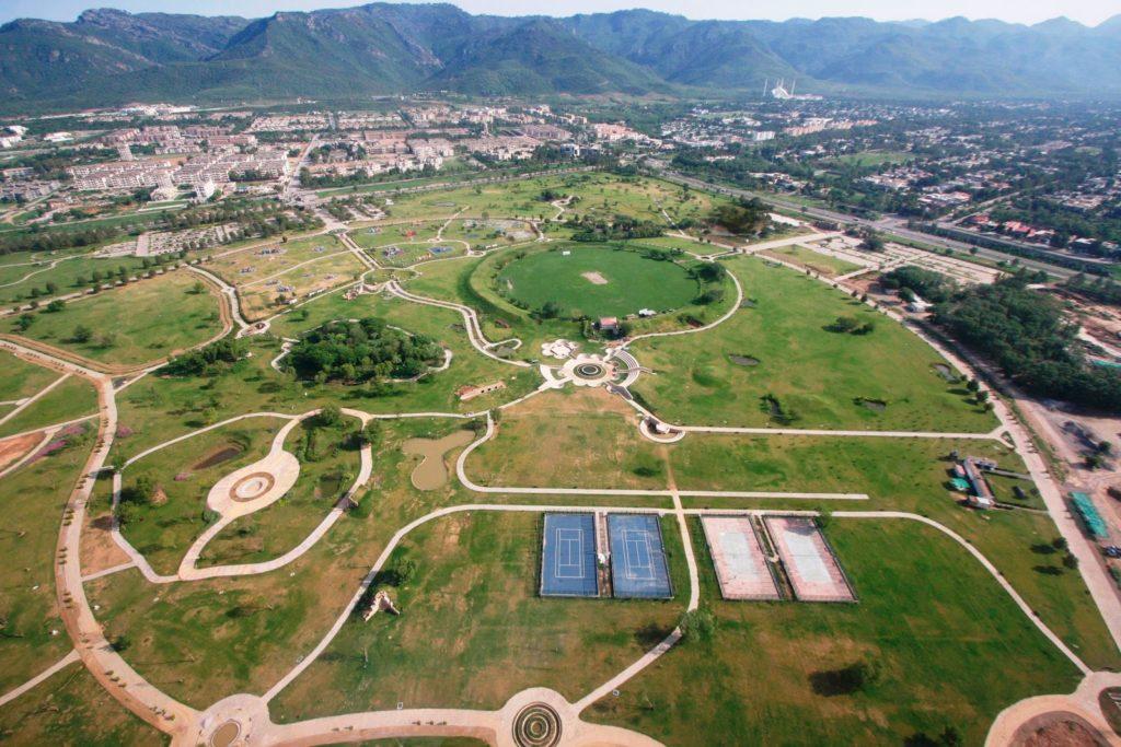23 - Aerial View Fatima Jinnah Park