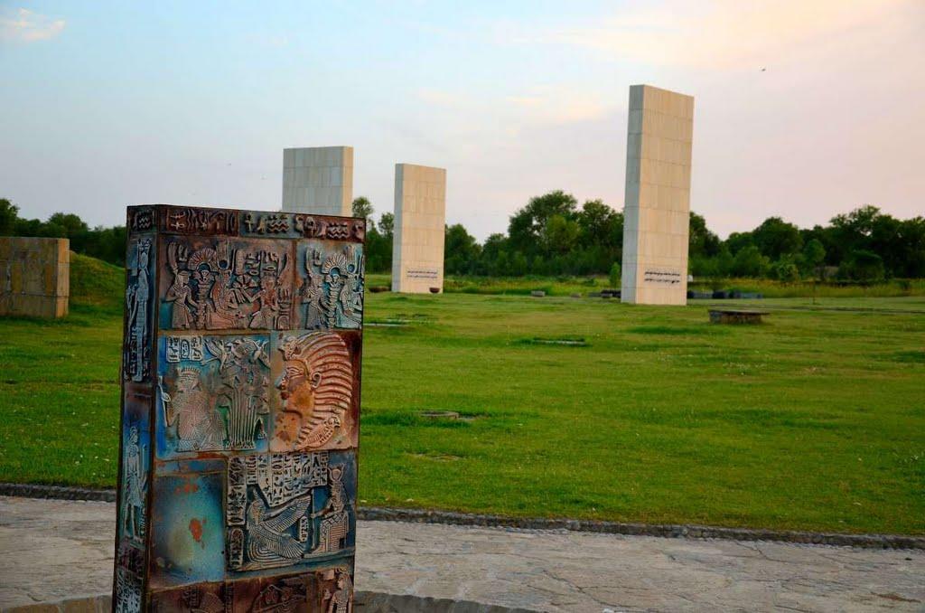 8 - A Monument in Fatima Jinnah Park
