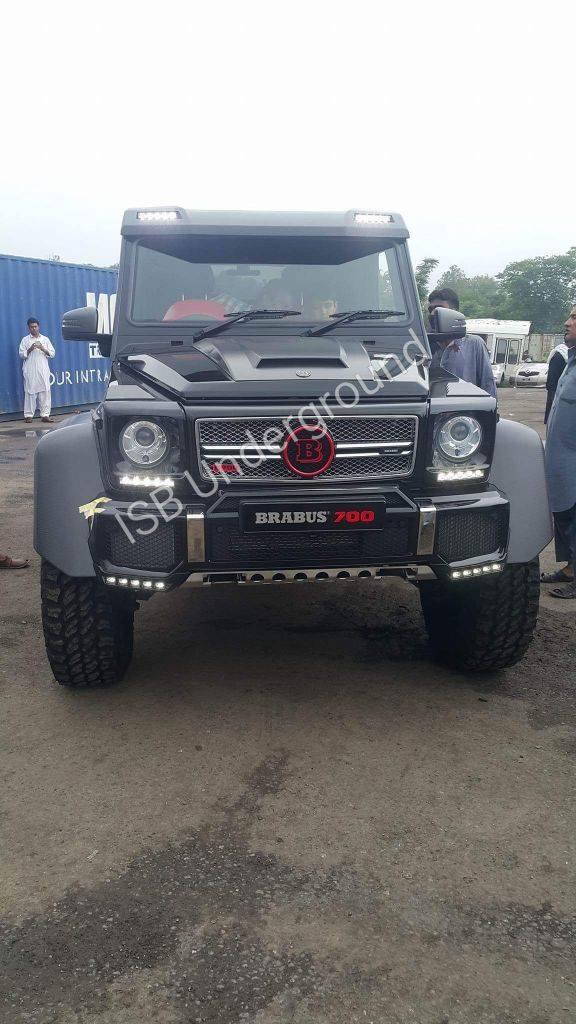 Mercedes Brabus Pakistan 5