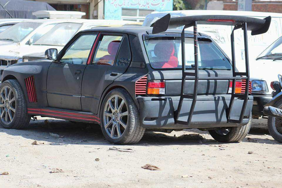 Images Of Modified Suzukis Only In Pakistan Paki Holic